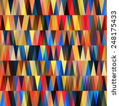 triangle abstract background | Shutterstock .eps vector #248175433