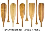 blades and grips of  wooden... | Shutterstock . vector #248177557