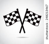 racing flags.  | Shutterstock . vector #248213467
