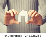 bright picture of man holding...   Shutterstock . vector #248226253