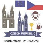 czech republic. logo | Shutterstock .eps vector #248266993