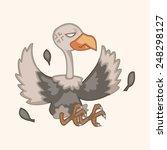bird condor cartoon theme... | Shutterstock .eps vector #248298127