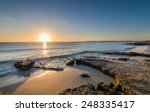 sun is rising at the horizon... | Shutterstock . vector #248335417