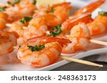 Delicious Grilled Shrimp On...