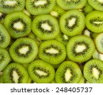 Kiwi Slices Background