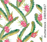 tropical seamless pattern.... | Shutterstock .eps vector #248541817