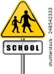 school  sign | Shutterstock .eps vector #248542333