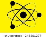 molecule icon  | Shutterstock . vector #248661277