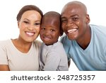 young loving african american... | Shutterstock . vector #248725357