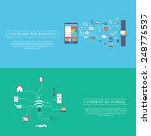 internet of things concept... | Shutterstock .eps vector #248776537