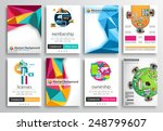 set of flyer design  web... | Shutterstock .eps vector #248799607