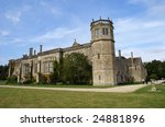 Stock photo anglo saxon abbey landmark tourist s attraction in england 24881896