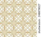 seamless ethnic texture | Shutterstock .eps vector #248878027