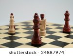 the game of chess   Shutterstock . vector #24887974