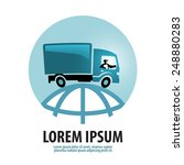 free shipping vector logo...