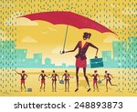 great illustration of retro... | Shutterstock .eps vector #248893873
