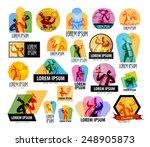 cooking vector logo design... | Shutterstock .eps vector #248905873