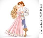 romantic scene of a fabulous...   Shutterstock .eps vector #248912947