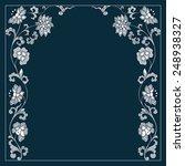 vector vintage border frame....   Shutterstock .eps vector #248938327