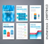 templates. set of web  mail ... | Shutterstock .eps vector #248978413