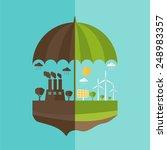 illustrations concept of... | Shutterstock .eps vector #248983357