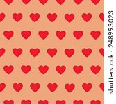 seamless pattern with red... | Shutterstock . vector #248993023