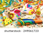 happy  colorful party decoration | Shutterstock . vector #249061723