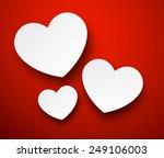 vector abstract background... | Shutterstock .eps vector #249106003