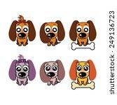 puppy | Shutterstock .eps vector #249136723