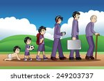 a vector illustration of a... | Shutterstock .eps vector #249203737