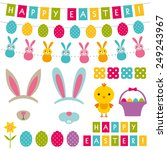 Easter Vector Decoration And...