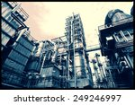 oil and gas refinery industry ... | Shutterstock . vector #249246997