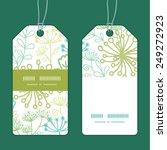 vector mysterious green garden... | Shutterstock .eps vector #249272923