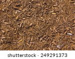 Brown Mulch With A Touch Of Red