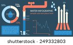 water infographic template with ...   Shutterstock .eps vector #249332803