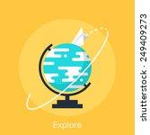 explore   Shutterstock .eps vector #249409273