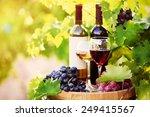 Tasty Wine Wooden Barrel Grape - Fine Art prints