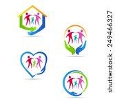 Care People Logo Vector Design...