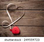 valentines day background red
