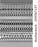 tribal ethnic pattern... | Shutterstock .eps vector #249567157