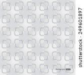 3d seamless pattern of... | Shutterstock .eps vector #249601897