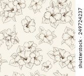 marriage seamless pattern with...   Shutterstock .eps vector #249724237