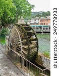 The Wheel Of Watermill In...