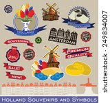 Holland Souvenirs And Symbols....