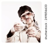instagram filtered image of a... | Shutterstock . vector #249856633