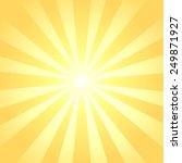 sun rays background | Shutterstock .eps vector #249871927