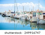 Many Yachts And Boats In The...