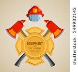 colored vector illustration ... | Shutterstock .eps vector #249932143