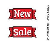 sale   new | Shutterstock .eps vector #249953023
