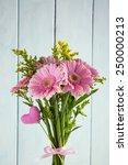 Bouquet Of Pink Gerbera Flower...